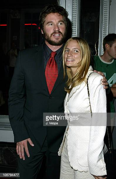 """Val Kilmer and Holly Wiersma during 2003 Toronto International Film Festival - """"Wonderland"""" Premiere at Uptown Theater in Toronto, Ontario, Canada."""