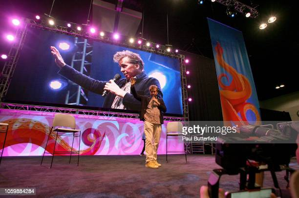 Val Kilmer attends Los Angeles Comic Con at Los Angeles Convention Center on October 26 2018 in Los Angeles California