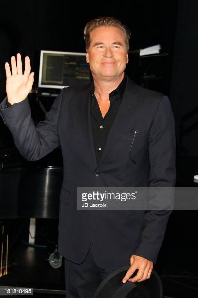 Val Kilmer attends the 23rd Annual Simply Shakespeare Benefit Reading Of 'The Two Gentlemen Of Verona' at The Broad Stage on September 25 2013 in...