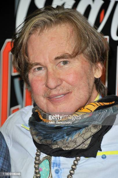 Val Kilmer attends the Monster Energy $50K Charity Challenge Celebrity Basketball Game at UCLA's Pauley Pavilion on July 08, 2019 in Westwood,...