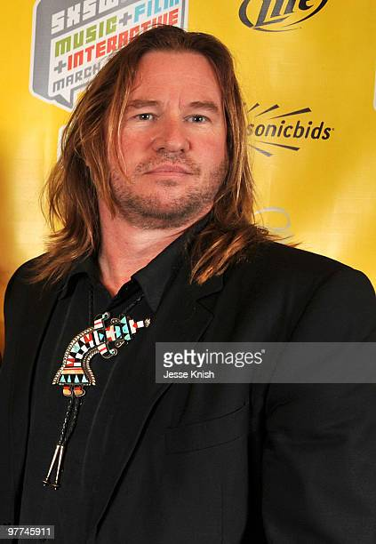 Val Kilmer attends the premiere of 'MacGruber' at 2010 SXSW Festival at Paramount Theater on March 15 2010 in Austin Texas