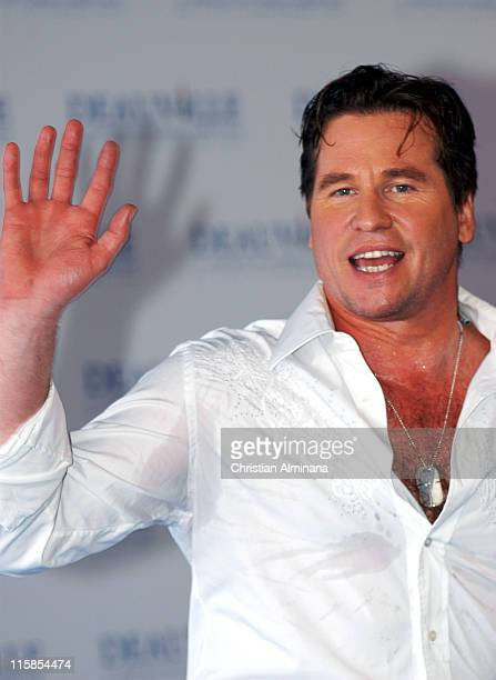 Val Kilmer during 31st American Film Festival of Deauville Kiss Kiss Bang Bang Photocall at CID in Deauville France