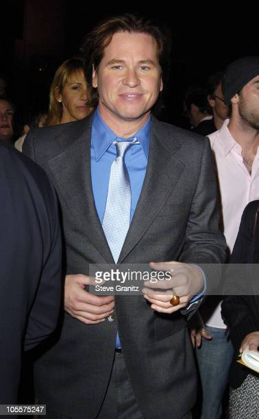 Val Kilmer during 'Alexander' Los Angeles Premiere Arrivals at Grauman's Chinese Theatre in Hollywood California United States