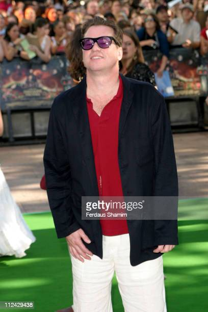 Val Kilmer during 'Charlie and the Chocolate Factory' London Premiere Arrivals at Odeon Leicester Square in London Great Britain