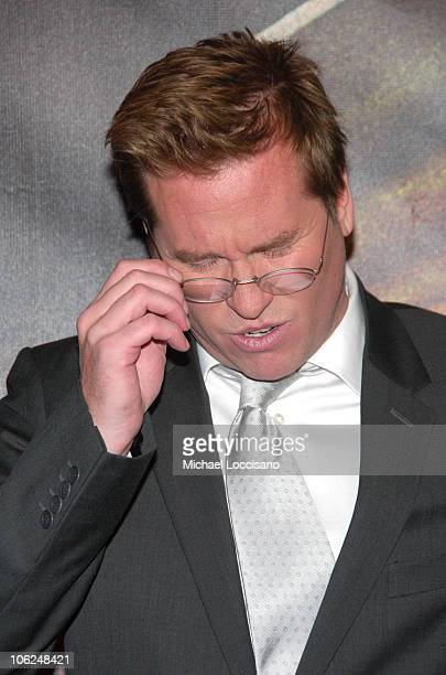 Val Kilmer during 'Deja Vu' New York Premiere Arrivals at Ziegfeld Theatre in New York City New York United States