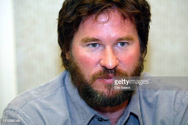 Val Kilmer during Hollywood Collectors Show October 04 2003 at North Hollywood in Hollywood California United States