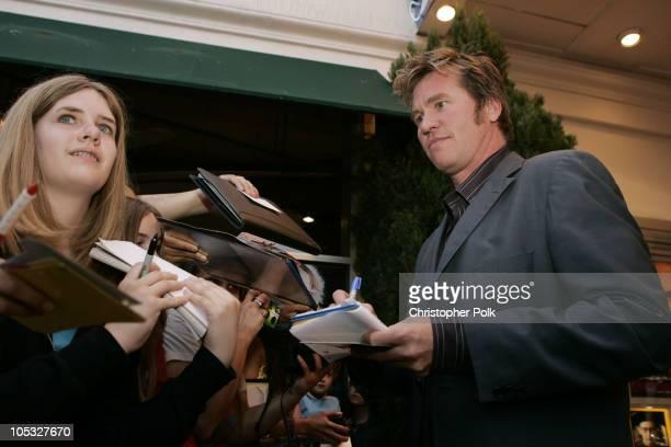Val Kilmer during SpiderMan 2 Los Angeles Premiere at Mann Village in Westwood California United States