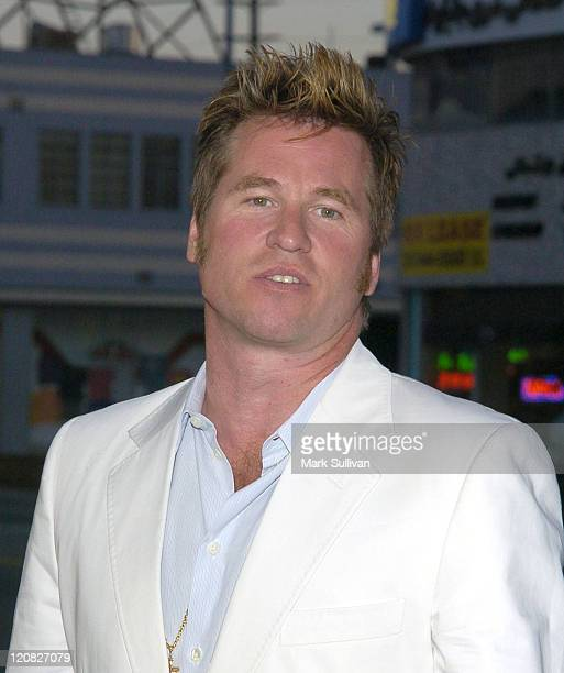 Val Kilmer during 'Stateside' Los Angeles Premiere Arrivals at The Crest Theatre in Westwood California United States