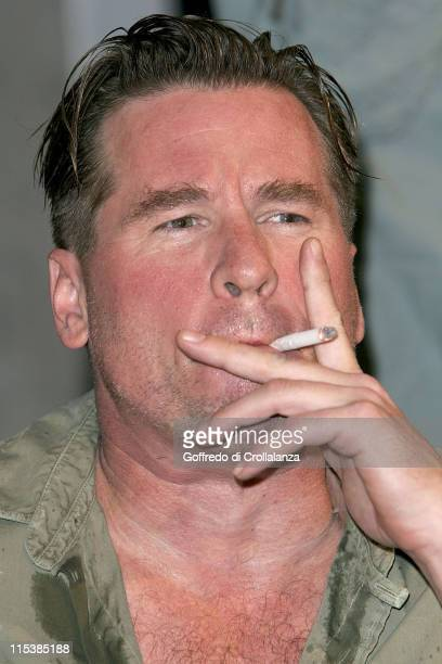 Val Kilmer during The Postman Always Rings Twice London Photocall at Playhouse Theatre in London Great Britain