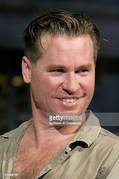 Val Kilmer during 'The Postman Always Rings Twice' London Photocall at Playhouse Theatre in London Great Britain