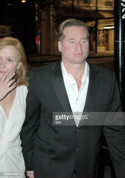 Val Kilmer during Val Kilmer Sighting June 8 2005 at The Playhouse Theatre in London Great Britain