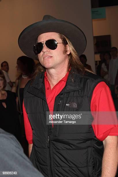 Val Kilmer is seen on December 4, 2009 in Miami Beach, Florida.