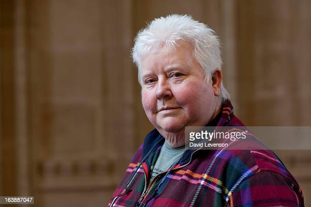 Val McDermid writer attends the Sunday Times Oxford Literary Festival at Christ Church Oxford on March 17 2013 in Oxford England