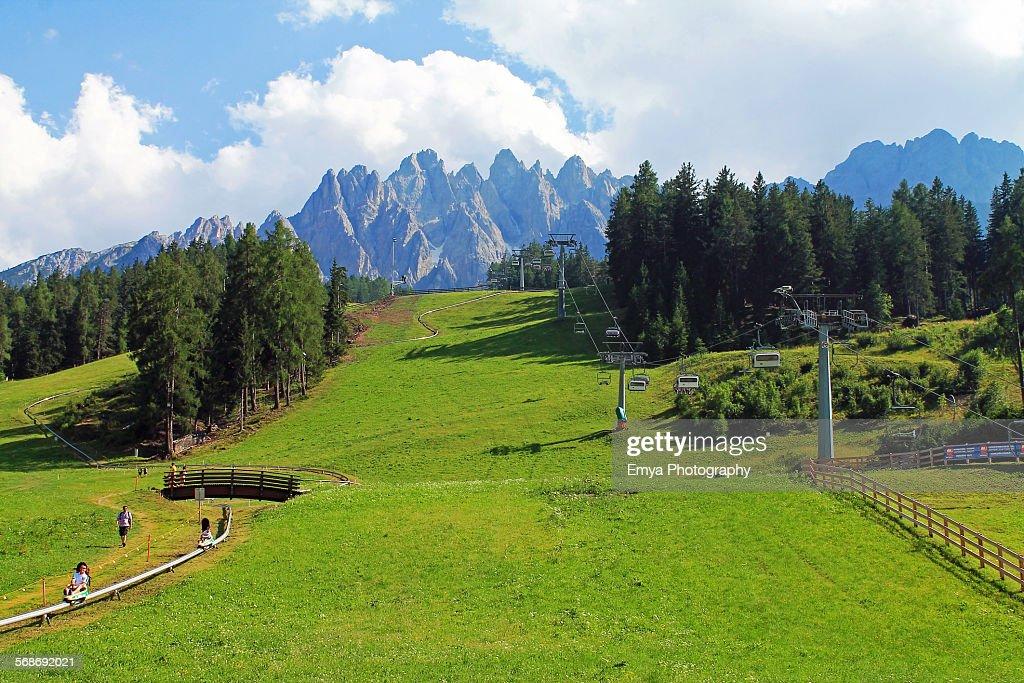 Val Pusteria : Stock Photo