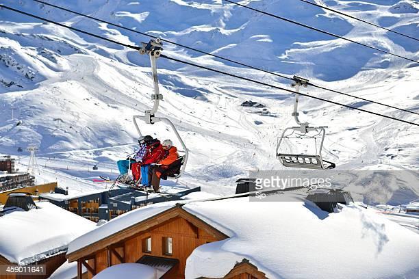 Val Thorens ski lift
