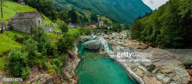 val verzasca 2 - carvajal stock photos and pictures