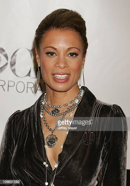 Valarie Pettiford during CBS/Paramount/UPN/Showtime/King World 2006 TCA Winter Press Tour Party - Arrivals at The Wind Tunnel in Pasadena,...