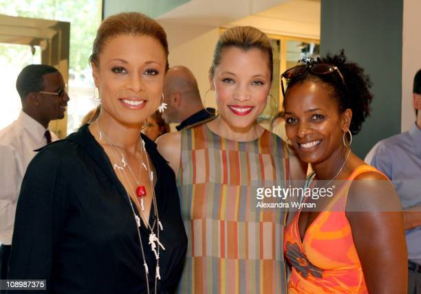 Valarie Pettiford Michael Michele and Vanessa Bell Calloway