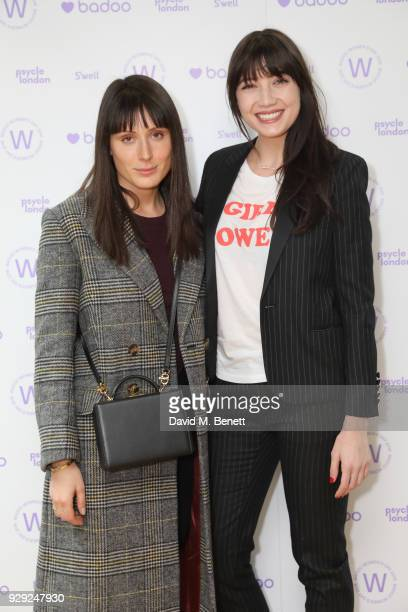 Valarie Stark and Daisy Lowe attend as Badoo makes a bold statement this International Women's Day with their #WomenOfBadoo event A special menu by...