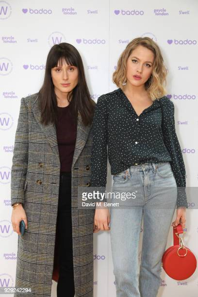 Valarie Stark and Tess Ward attend as Badoo makes a bold statement this International Women's Day with their #WomenOfBadoo event A special menu by...