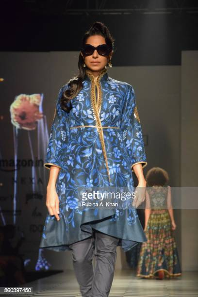Valaya's classic collection Gulistan Jamavar and Punjab at the Fashion Design Council of India's 30th edition of India Fashion Week Spring Summer...