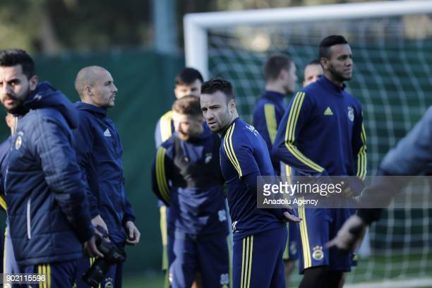 Valbuena of Fenerbahce attends the training session within the team's midseason training camp in Antalya Turkey on January 7 2018