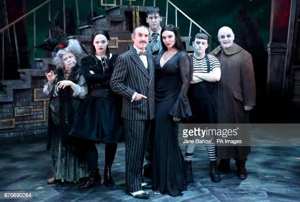 Valda Aviks as Grandma Addams Carrie Hope Fletcher as Wednesday Cameron Blakely as Gomez Dickon Gough as Lurch Samantha Womack as Morticia Grant...
