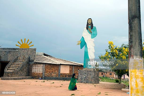 vale do amanhecer brasília brazil - jesus calming the storm stock pictures, royalty-free photos & images