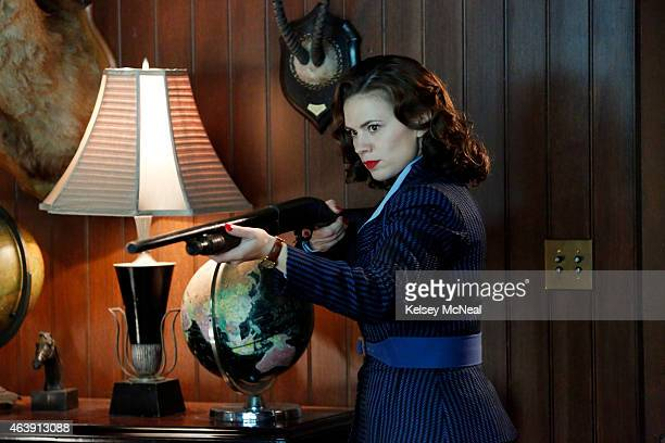 S AGENT CARTER 'Valediction' Peggy faces the full fury of Leviathan as Howard Stark makes his return in the explosive season finale of 'Marvel's...
