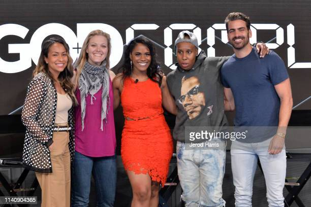 Valeisha Butterfield Jones Kim Swennen Dariaha Greene Lena Waithe and Nyle DiMarco attend Conroy Productions and Google Host their first ever...