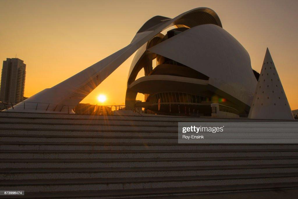 Valencia city opera : Stock Photo