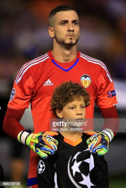 Valencia goalkeeper Jaume Domenech
