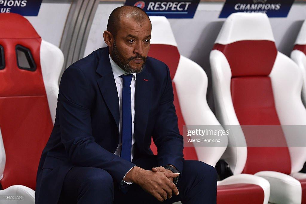 Monaco v Valencia - UEFA Champions League: Qualifying Round Play Off Second Leg : News Photo