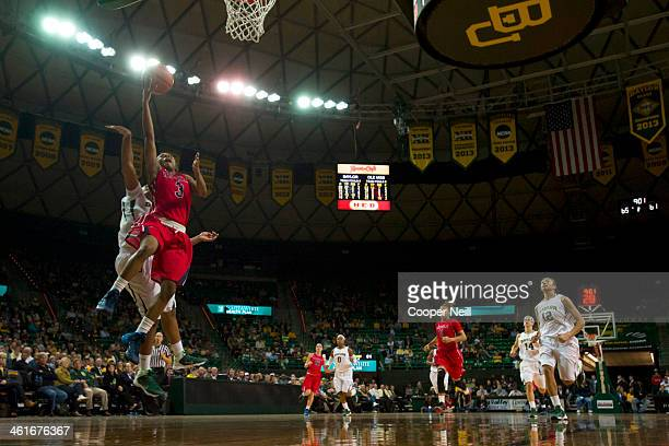 Valencia McFarland of the Mississippi Lady Rebels drives to the basket against the Baylor Bears on December 18 2013 at the Ferrell Center in Waco...