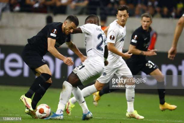 Valencia of Fenerbahce in action during the UEFA Europa League group D match between Eintracht Frankfurt and Fenerbahce at Deutsche Bank Park on...