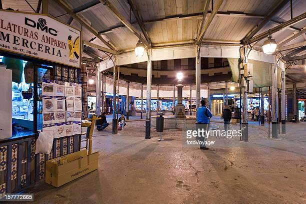 Valencia Plaza Redonda El Clot marché de nuit de l'Espagne