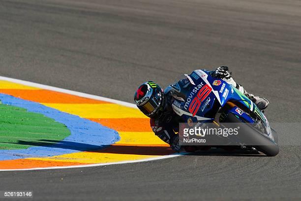 Valencia, SPAIN -07 November: Motul Grand Prix of Comunitat Valenciana. Circuit Ricardo Tormo, Cheste Valencia. Free Practices In the photo: #99...