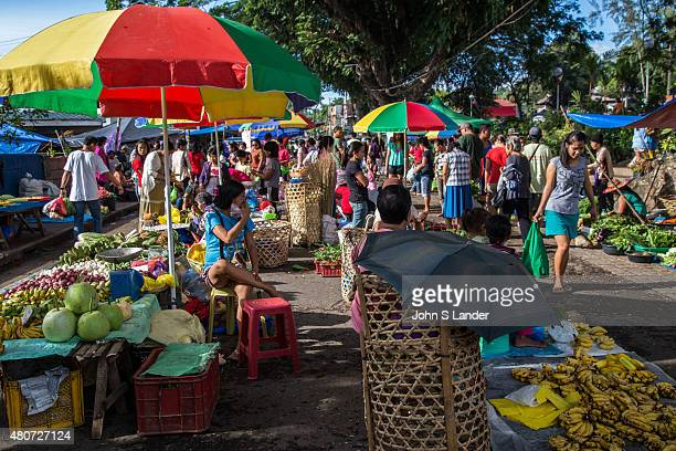 Valencia Sunday Market takes place at the plaza in this small pleasant town in Negros Oriental Thanks to its cooler hill climate Valencia grows many...