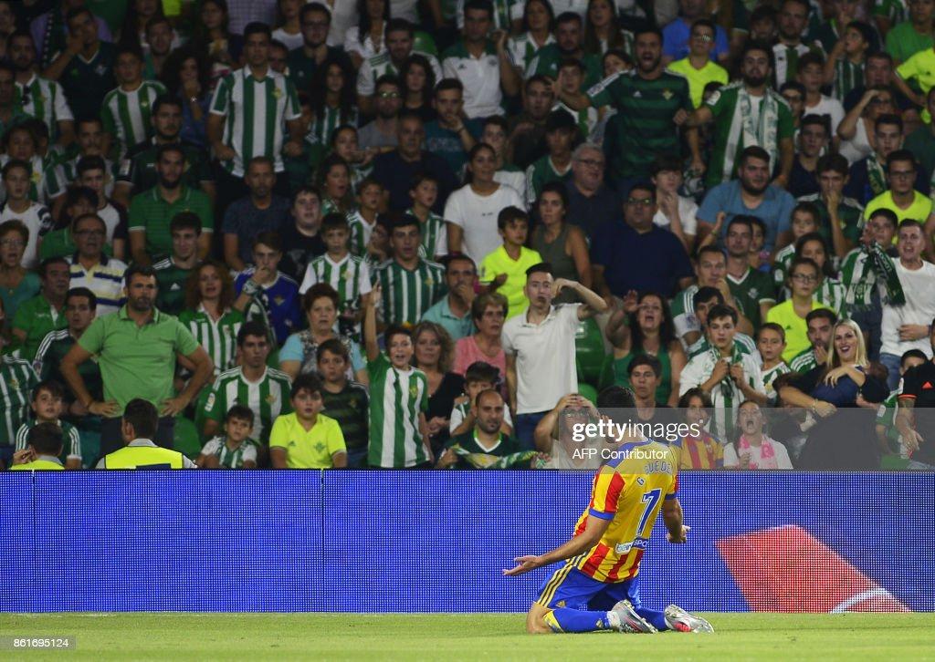 Real Betis v Valencia - La Liga