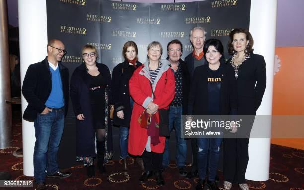 Valenciennes Film Festival's jury Maurice Barthelemy Marilou Berry Agathe Bonitzer Marina Vlady Philippe Duquesne Philippe Le Guay Liane Foly and...