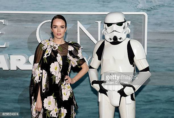 Valene Kane attends the launch event and reception for Lucasfilm's highly anticipated firstever standalone Star Wars adventure Rogue One A Star Wars...