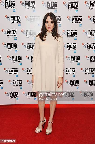 """Valene Kane attends the UK Premiere of """"'71"""" at Vue Leicester Square on October 9, 2014 in London, England."""