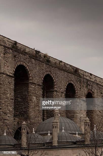 Valens Aqueduct (Bozdogan Kemeri) In Istanbul, Turkey