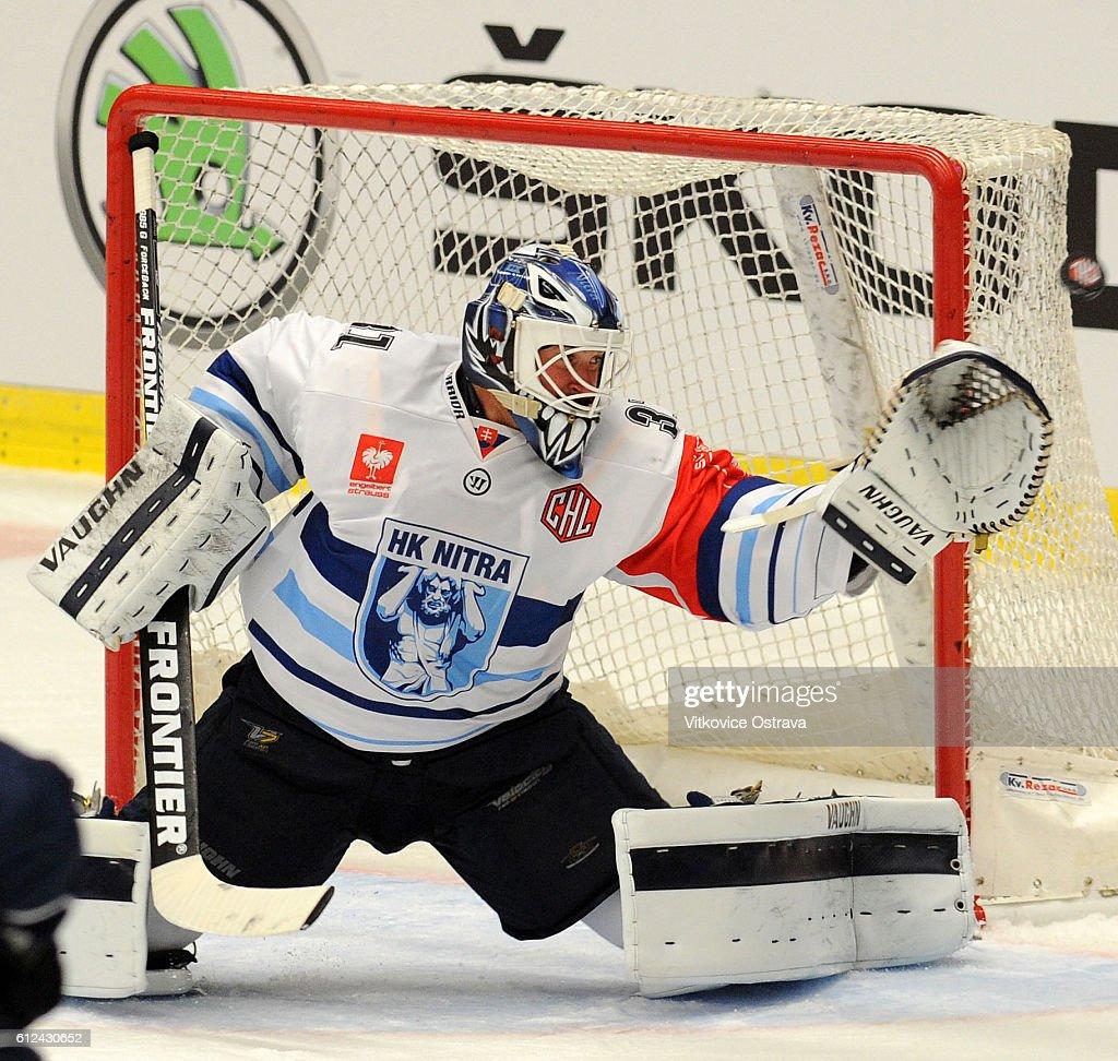 CZE: Vitkovice Ridera Ostrava v HK Nitra - Champions Hockey League
