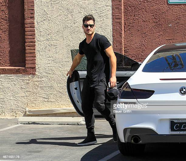 Valentin Chmerkovskiy is seen in Hollywood on March 24 2015 in Los Angeles California
