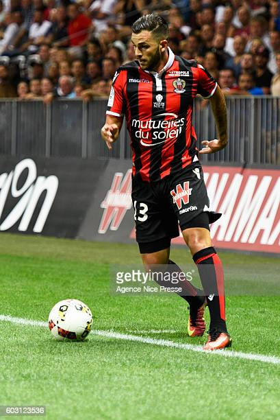Valentin Eysseric of Nice during the french Ligue 1 match between Ogc Nice and Olympique de Marseille at Allianz Riviera on September 11 2016 in Nice...