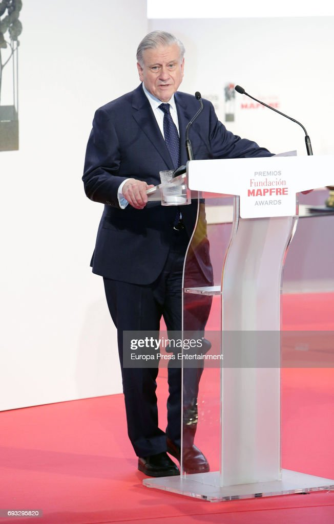 Valentin Fuster Attends The Mapfre Foundation Awards At Circulo De Bellas  Artes On June 6,