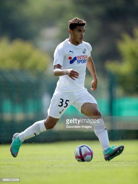 Valentin Gendrey of Amiens SC during the Club Friendly match between Amiens SC v UNFP FC at the Centre Sportif Du Touquet on July 13 2018 in Le...