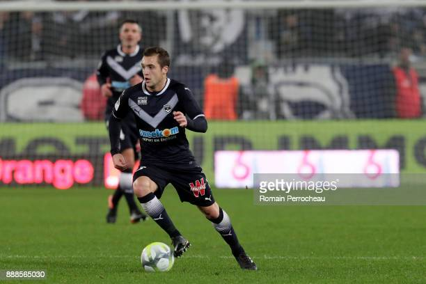 Valentin Vada during the Ligue 1 match between FC Girondins de Bordeaux and Strasbourg at Stade Matmut Atlantique on December 8 2017 in Bordeaux