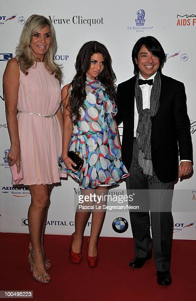 Valentin Yudashkin arrives at the NEON Charity Gala in aid of the IRIS Foundation at the Capital City on May 24, 2010 in Moscow, Russia.